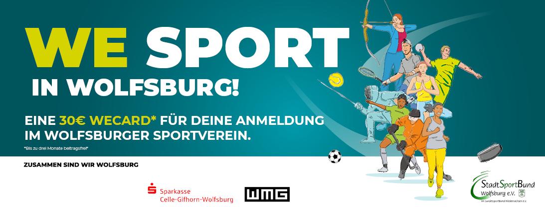 WE SPORT IN WOLFSBURG